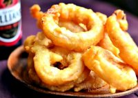Beer onion ring batter recipe