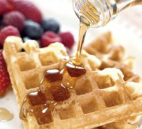 Belgian waffle recipe light crispy onion