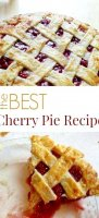 Best cherry pie recipe using tapioca