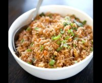 Best chinese garlic fried rice recipe
