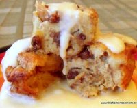 Best easy raisin bread pudding recipe
