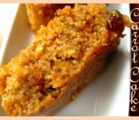 Best eggless carrot cake recipe