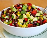 Black bean corn red pepper salad recipe