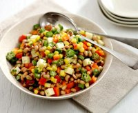 Black eyed pea salad with corn recipe