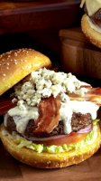 Blue cheese burger topping recipe
