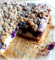 Blueberry coffee cake crumble recipe