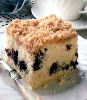 Blueberry coffee cake streusel recipe