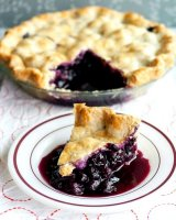 Blueberry pie filling recipe without cornstarch powder