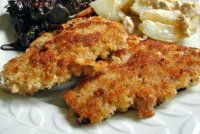 Breaded pork tenderloin baked recipe