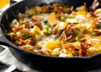 Breakfast skillet recipe sausage and potato