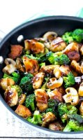 Broccoli chicken stir fry for two recipe