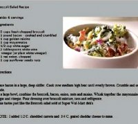 Broccoli cole slaw recipe from walmart deli