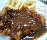 Brown sauce chicken chop recipe