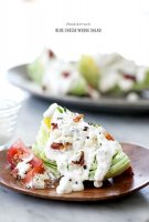 Caesar salad blue cheese recipe