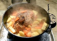 Camp oven roast pork recipe