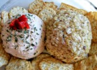 Canned ham cheese ball recipe