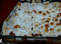 Canned sweet potato casserole with marshmallows recipe