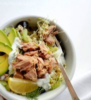 Canned tuna recipe without mayonnaise