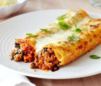 Cannelloni with meat filling recipe