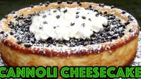Cannoli cheesecake recipe with cream cheese