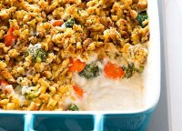 Carrot and broccoli bake recipe
