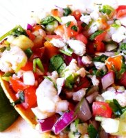 Ceviche recipe shrimp mexican style