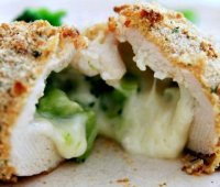 Cheese stuffed chicken tasty recipe