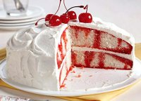 Cherry jello cake with cool whip recipe