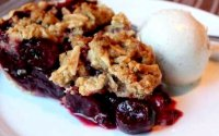 Cherry pie oatmeal crumb topping recipe