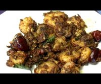 Chettinad prawn pepper fry recipe