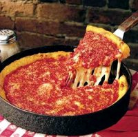 Chicago style deep dish pizza recipe unos pizza