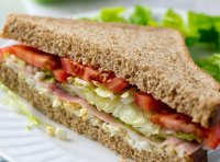 Chicken and ham sandwich recipe