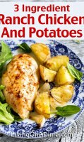 Chicken and potatoes recipe ingredients