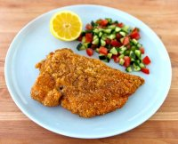 Chicken schnitzel recipe kosher pickles