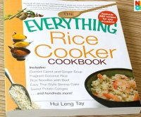 Chicken soup with rice book recipe holder