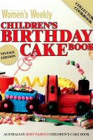 Childrens birthday cake recipe book