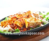 Chilli cheese recipe sanjeev kapoor