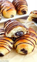 Chocolate croissant recipe without yeast