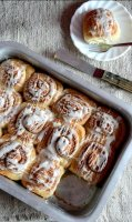 Cinnamon roll recipe egg free