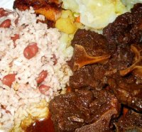 Corned beef and rice jamaican recipe for oxtails