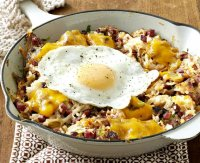 Corned beef hash recipe with potatoes