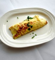 Crab meat filled crepes recipe