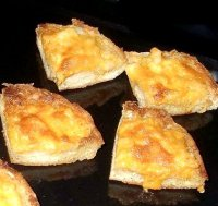 Crab meat old english cheese appetizer recipe