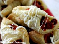 Cranberry apple puff pastry recipe