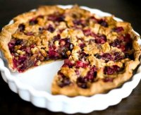 Cranberry chocolate nut pie recipe
