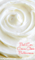 Cream cheese icing filling recipe