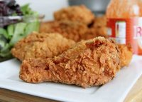 Crispy and crunchy fried chicken recipe