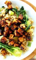 Crispy stir fried tofu recipe