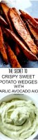 Crispy sweet potato fries recipe egg white icing