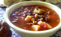 Crock pot vegetable soup recipe beef